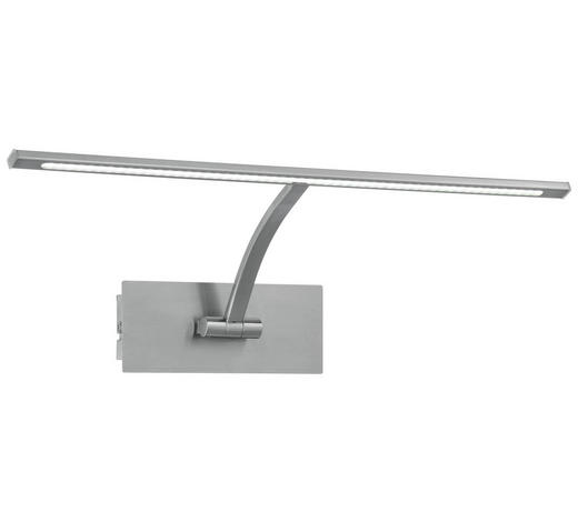 LED-WANDLEUCHTE - Nickelfarben, Basics, Metall (45cm)