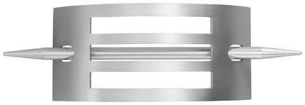 DEKOSPANGE - Edelstahlfarben, KONVENTIONELL, Metall (7,2/15,4cm) - Homeware