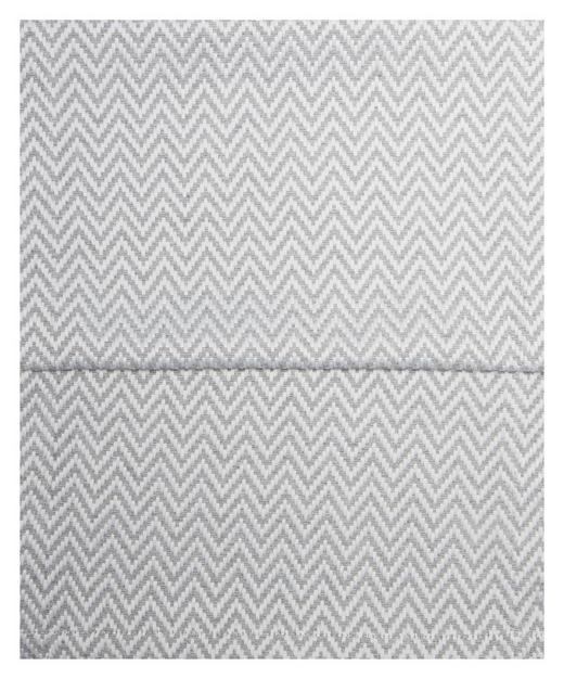 TISCHLÄUFER Textil Jacquard Grau, Weiß 40/150 cm - Weiß/Grau, Textil (40/150cm)