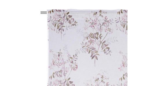 FERTIGVORHANG halbtransparent  - Beere, KONVENTIONELL, Textil (140/245cm) - Esposa