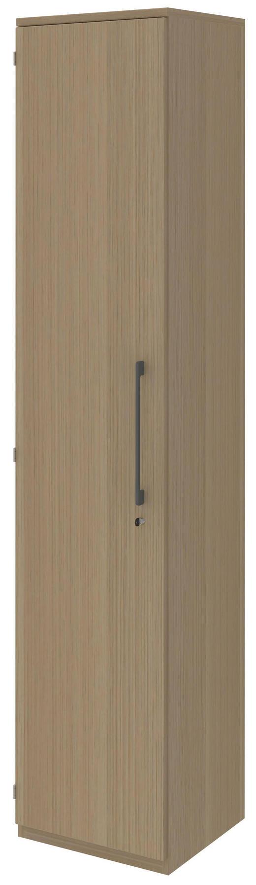 AKTENSCHRANK Eichefarben - Eichefarben, Design, Holzwerkstoff (42,7/217,4/43cm) - Moderano