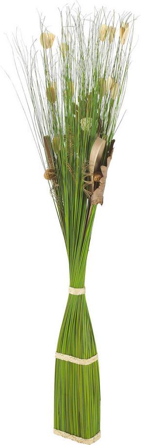 BUNT - grön, Klassisk, metall/ytterligare naturmaterial (150cm) - Ambia Home