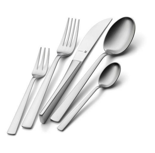 BESTECKSET  30-teilig  Edelstahl - Edelstahlfarben, Basics, Metall (42/24cm) - WMF