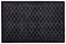 FUßMATTE 60/90 cm Karo Grau - Grau, Basics, Kunststoff/Textil (60/90cm) - Esposa