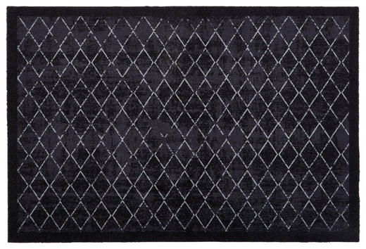FUßMATTE 60/90 cm Ranken Grau - Grau, Basics, Kunststoff/Textil (60/90cm) - Esposa