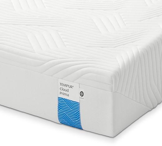 MATRATZE CLOUD PRIMA 100/200 cm - Weiß, Basics, Textil (100/200cm) - Tempur