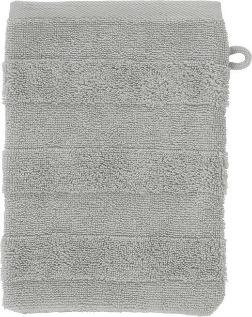 WASCHHANDSCHUH  Silberfarben - Silberfarben, Basics, Textil (16/22cm) - Linea Natura