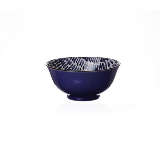 MÜSLISCHALE - Blau/Weiß, Keramik (15,5cm) - Ritzenhoff Breker