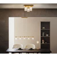 LED HÄNGELEUCHTE   Goldfarben, LIFESTYLE, Glas/Metall (91,5/ ...