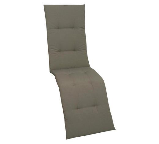 RELAXSESSELAUFLAGE Uni  - Taupe, KONVENTIONELL, Textil (48/170/5cm)