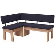KOTNA KLOP, leseni material, tekstil antracit, hrast - hrast/antracit, Konvencionalno, leseni material/tekstil (125/165cm) - Venda
