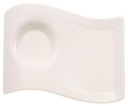 SERVIERPLATTE - Weiß, Basics, Keramik (17/22cm) - Villeroy & Boch