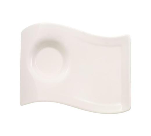 SERVIERPLATTE - Weiß, Design, Keramik (17/22cm) - Villeroy & Boch