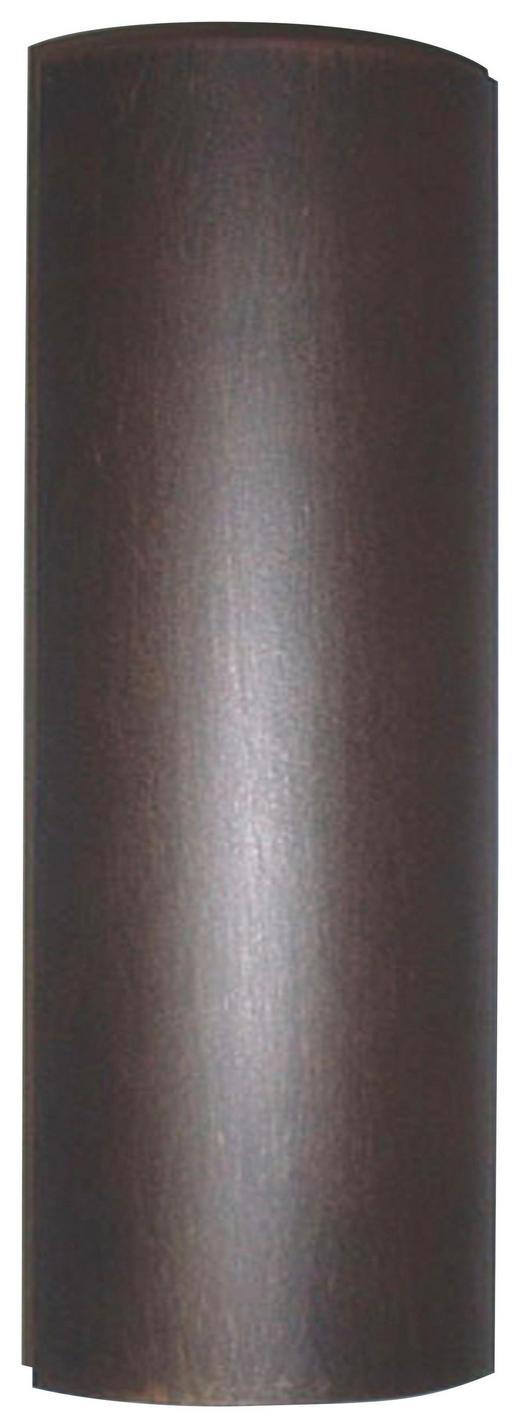 WANDLEUCHTE - Rostfarben/Goldfarben, ROMANTIK / LANDHAUS, Metall (7/37/8cm)