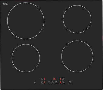INDUKČNÍ VARNÁ DESKA - černá, Basics, kov/sklo (59/52cm) - Premiere