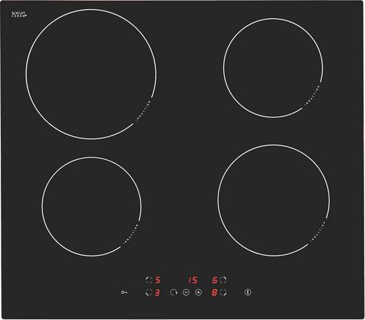 Induktionskochfeld - Schwarz, Basics, Glas/Metall (59/52cm) - PREMIERE