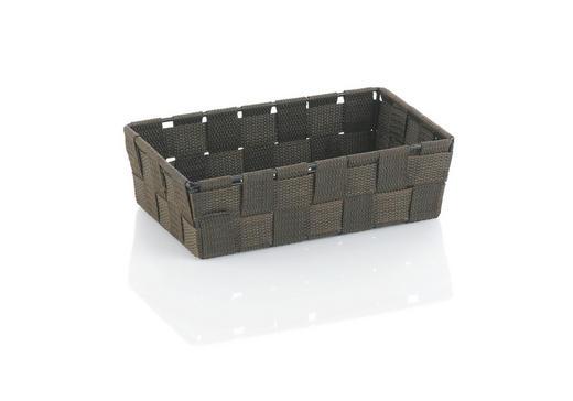 KORB - Braun, Basics, Textil (23/15/6cm)