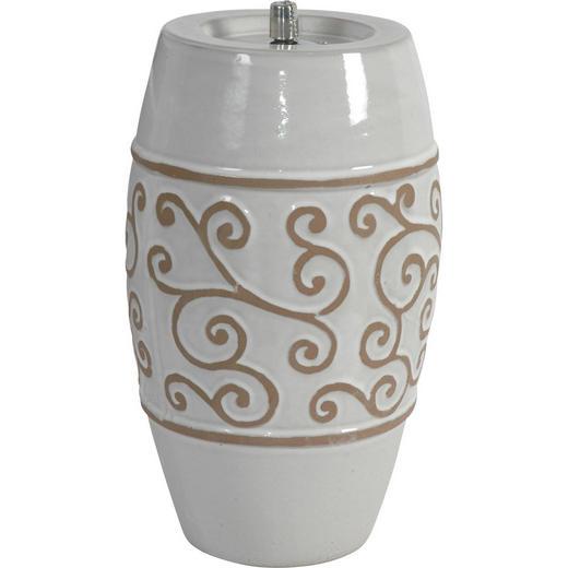 ÖLLAMPE - Creme, Basics, Keramik (23/39cm) - Ambia Home