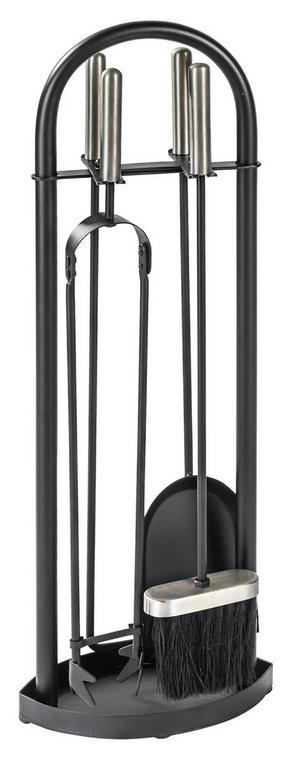 SPISREDSKAP - svart, Basics, metall (23/15/65cm) - Ambia Home