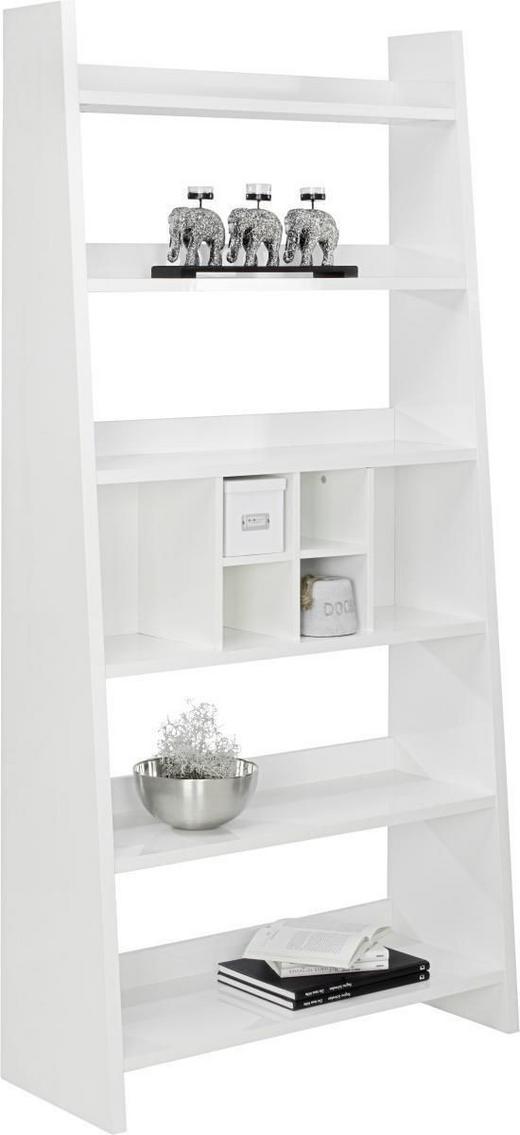 REGAL Weiß - Weiß, Design, Holzwerkstoff (100/205/38cm) - Carryhome