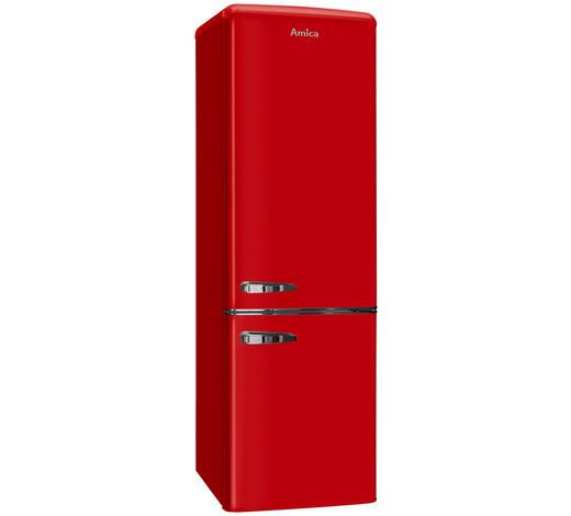 Kühl-Gefrier-Kombi KGCR387100R - Rot, Basics, Metall (55/181/61,5cm)