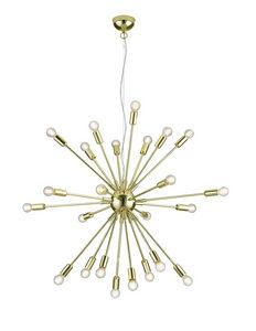 TAKLAMPA - mässingfärg, Design, metall (90/150cm) - Marama