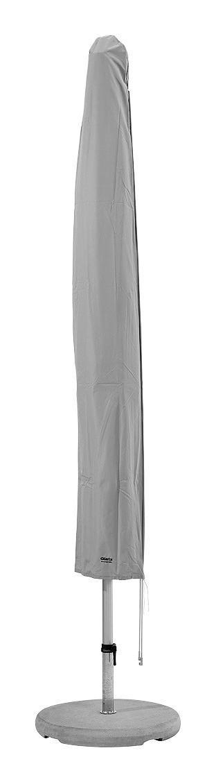 SCHIRMHÜLLE Hellgrau - Hellgrau, KONVENTIONELL, Textil (45/258/45cm) - Glatz