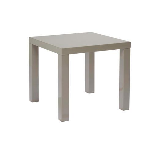 BEISTELLTISCH quadratisch Schlammfarben  - Schlammfarben, Design, Holzwerkstoff (50/45/50cm) - Carryhome