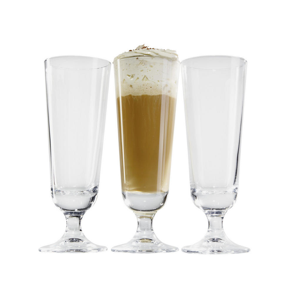 XXXLutz Eiskaffeeglas 3-teilig