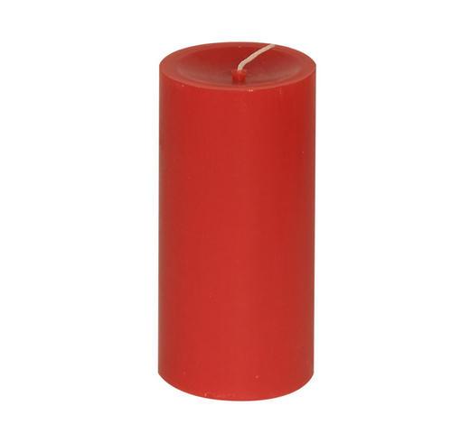 STUMPENKERZE 5,8/12 cm - Rot, Basics (5,8/12cm) - Steinhart