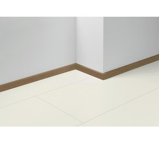 SOCKELLEISTE Braun, Eichefarben - Eichefarben/Braun, Basics, Holzwerkstoff (257/4/1,6cm) - Parador