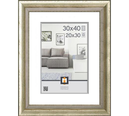 OKVIR 30X40CM - boje srebra, Basics, plastika (39/49/1.65cm)