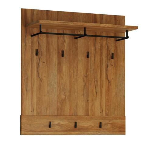 GARDEROBNI PANEL - hrast, Konvencionalno, leseni material (92,8/101/32,5cm) - Venda