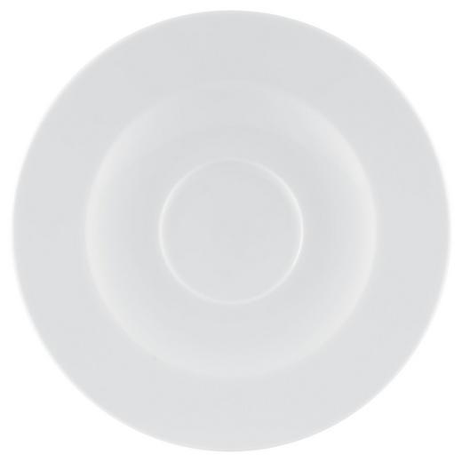 UNTERTASSE - Weiß, Keramik (16,5cm) - Seltmann Weiden