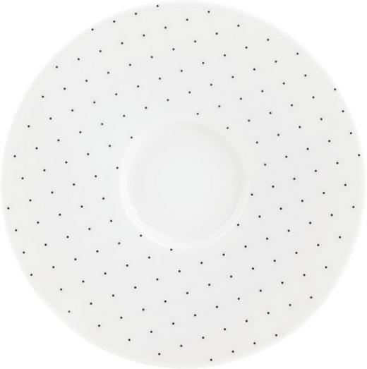 UNTERTASSE - Schwarz/Weiß, Basics, Keramik (14cm) - Seltmann Weiden