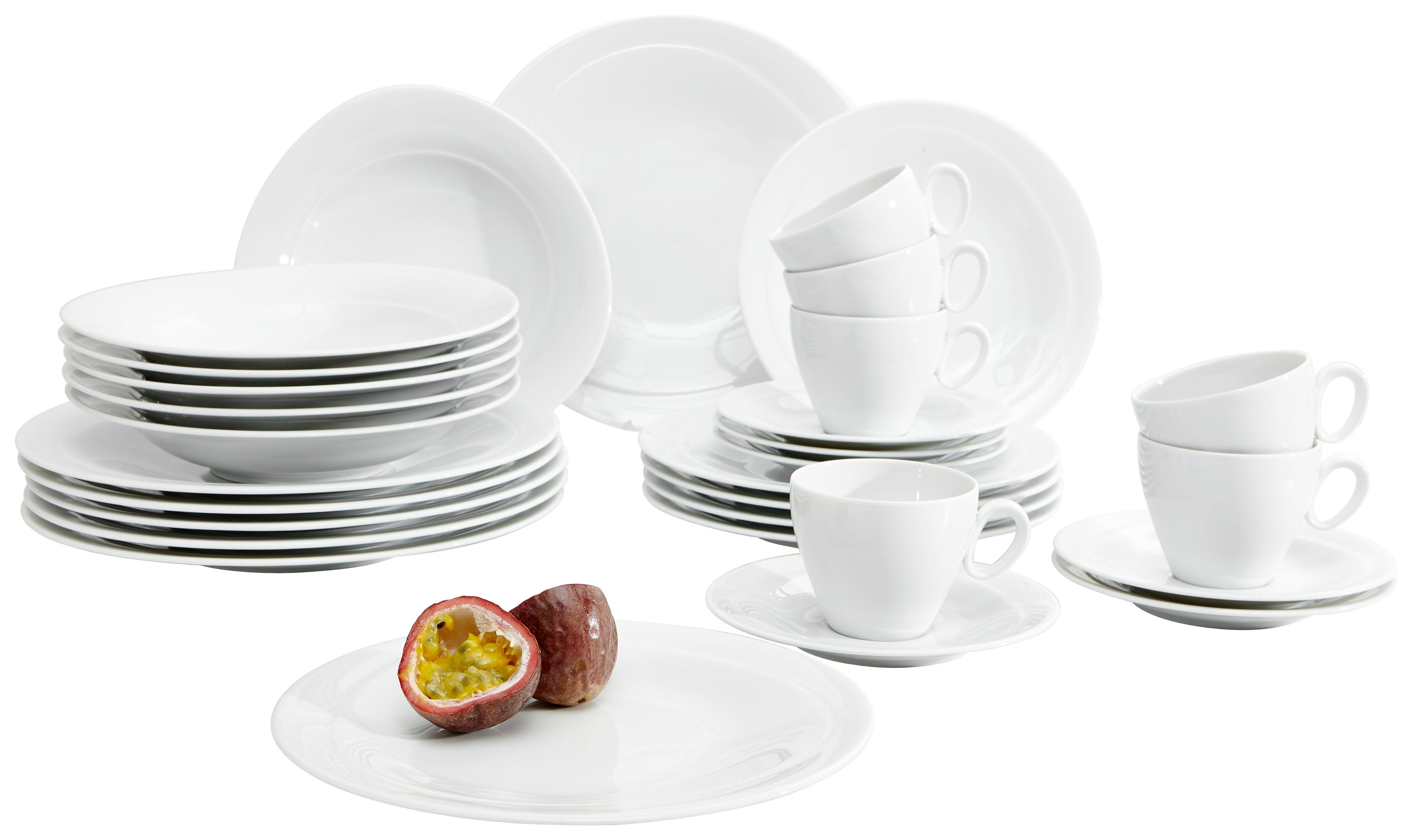 KOMBISERVICE - Weiß, Basics, Keramik - SELTMANN