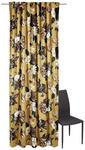 FERTIGVORHANG  halbtransparent  135/245 cm   - Goldfarben, LIFESTYLE, Textil (135/245cm) - Ambiente