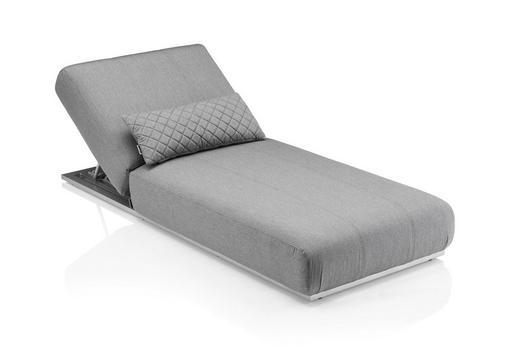 SONNENLIEGE - Grau, Design, Kunststoff/Textil (213/90/33cm) - Kettler HKS