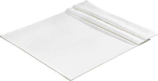 TISCHDECKE Textil Jacquard Weiß 160/260 cm - Weiß, Basics, Textil (160/260cm)