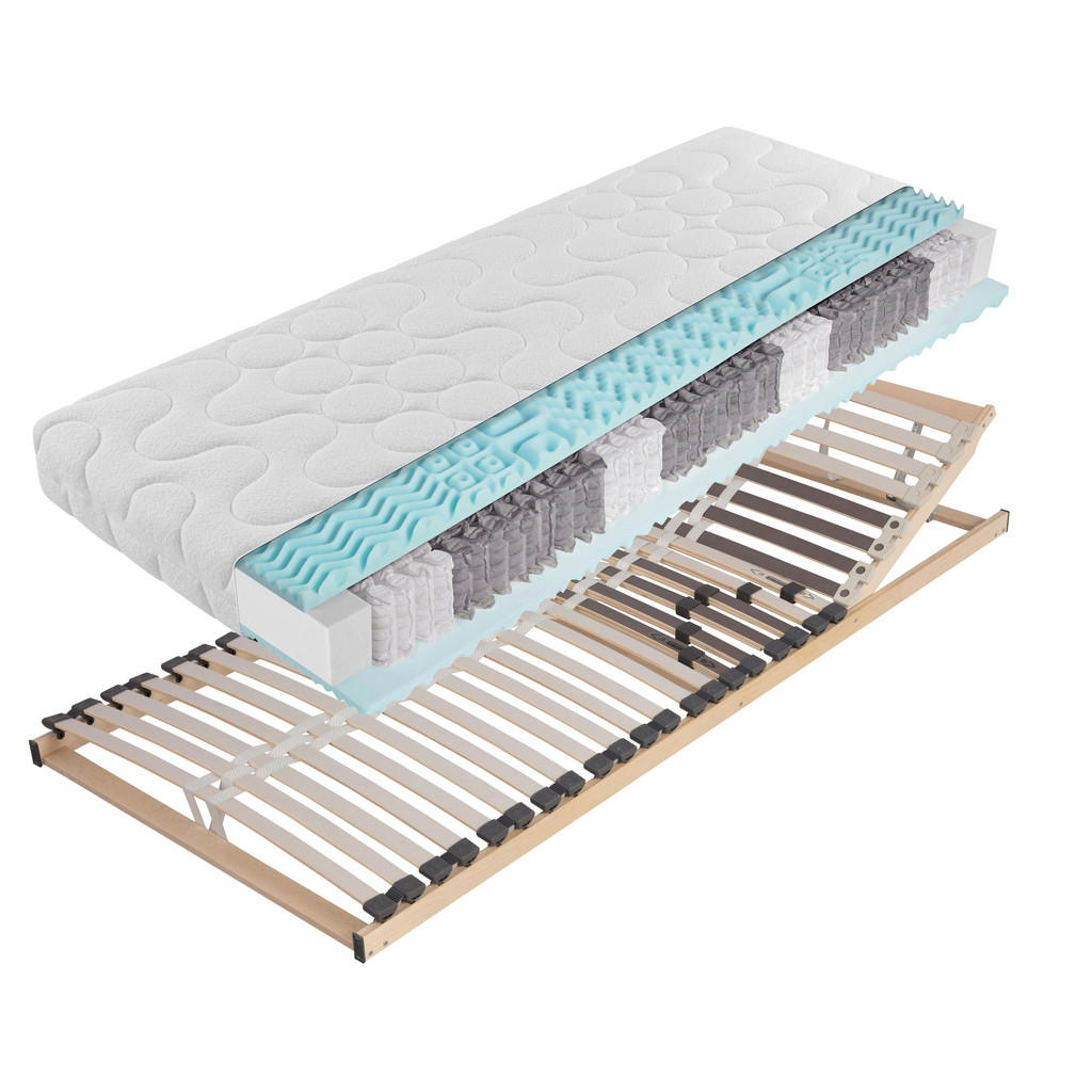Carryhome MATRATZENSET 140/200 cm | Schlafzimmer > Matratzen > Matratzen-Sets | Holzwerkstoff | Carryhome