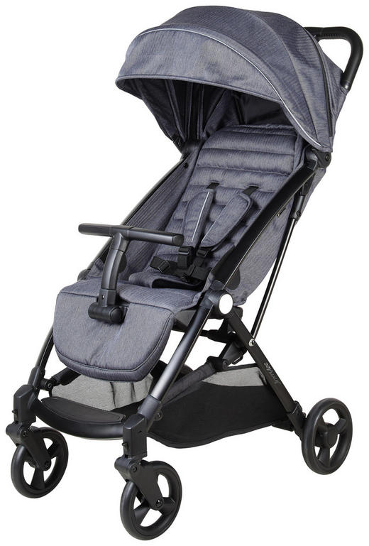 Buggy Easy - Anthrazit/Schwarz, Design, Textil/Metall (81/52,5cm) - Jimmylee
