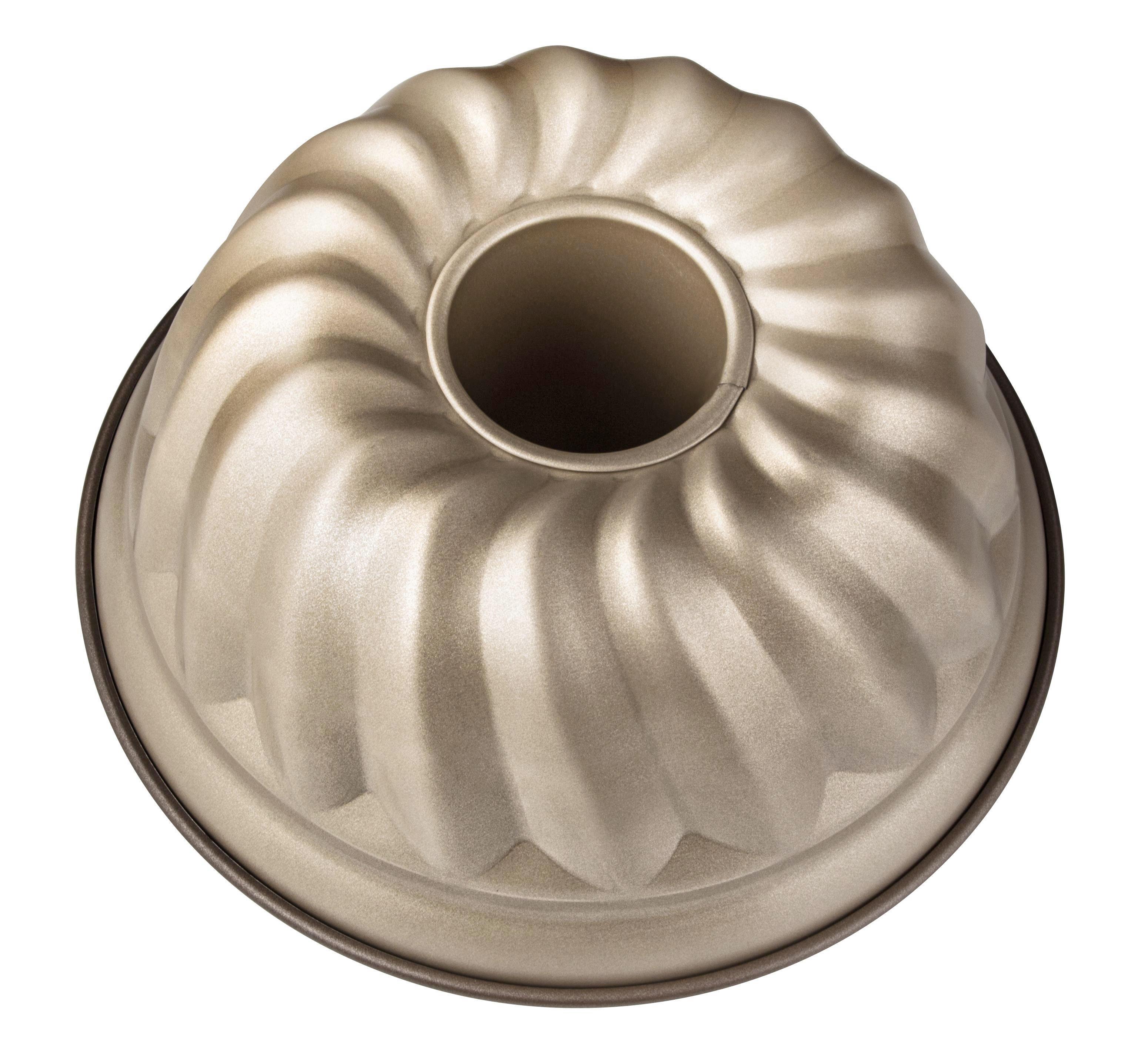 GUGELHUPFFORM - Goldfarben, Metall (25/11,5cm)