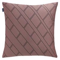 OKRASNA BLAZINA - antracit/pastelno roza, Konvencionalno, tekstil (40/40cm) - Joop!