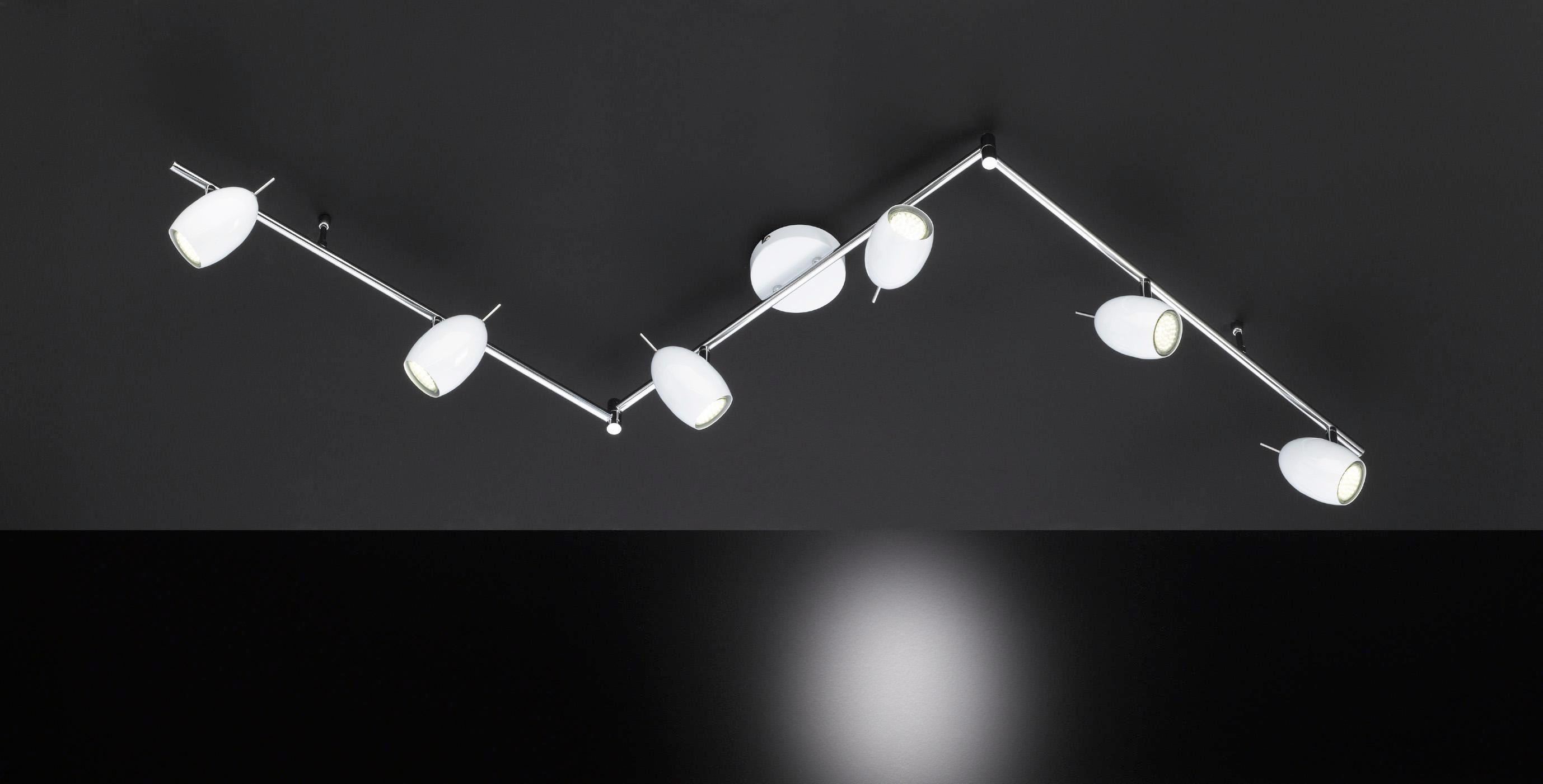 LED-STRAHLER - Weiß, Design, Metall (171/14/9cm)