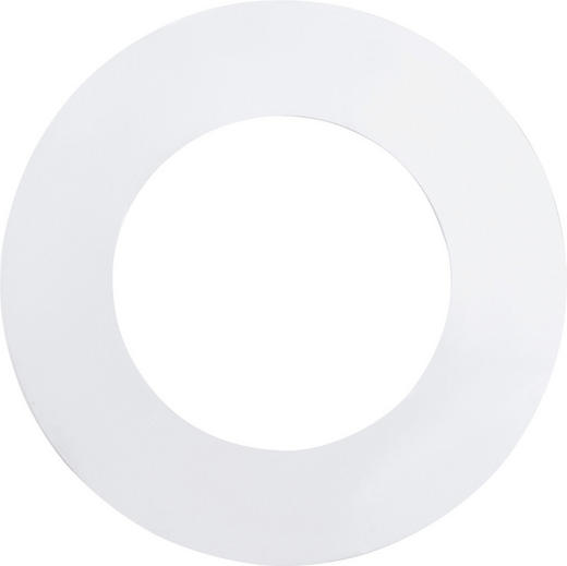 EINBAULEUCHTE 3-teilig Fueva - Weiß, Basics, Metall (8,5cm)
