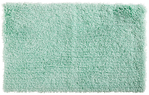BADEMATTE  Mintgrün  60/100 cm - Mintgrün, Basics, Kunststoff/Textil (60/100cm) - Esposa