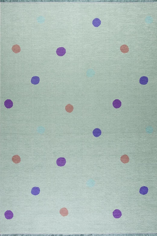 KINDERTEPPICH  100/160 cm  Mintgrün - Mintgrün, Trend, Textil (100/160cm)