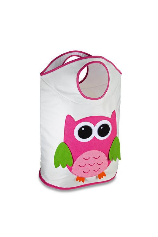 SPIELZEUGTONNE 28/56/68 cm - Pink/Weiß, Basics, Textil (28/56/68cm) - My Baby Lou