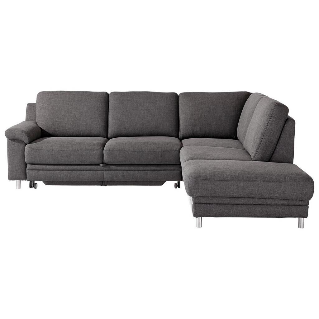 Pure Home Comfort WOHNLANDSCHAFT Rücken echt, Grau