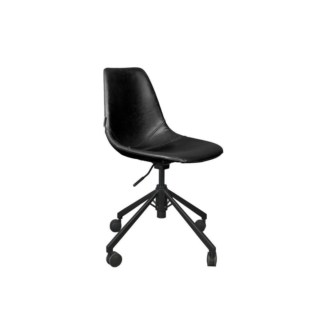 Dutchbone Schreibtischstuhl schwarz